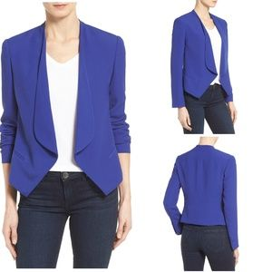 NEW Vince Camuto Drape Front Blazer